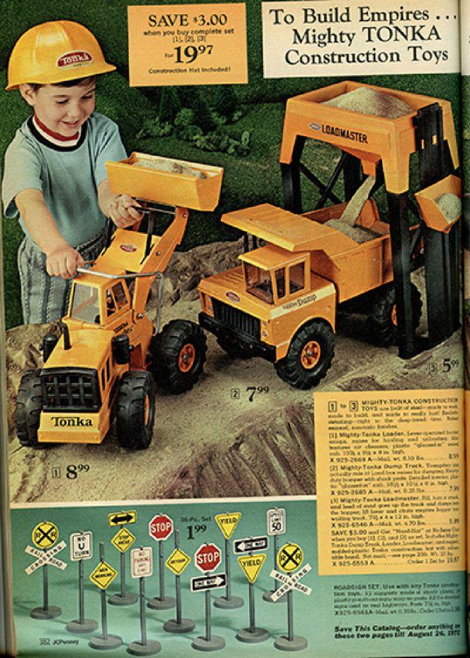 Toys from 1961 J.C. Penney Christmas catalog, courtesy of DeGolyer Library, Southern Methodist University