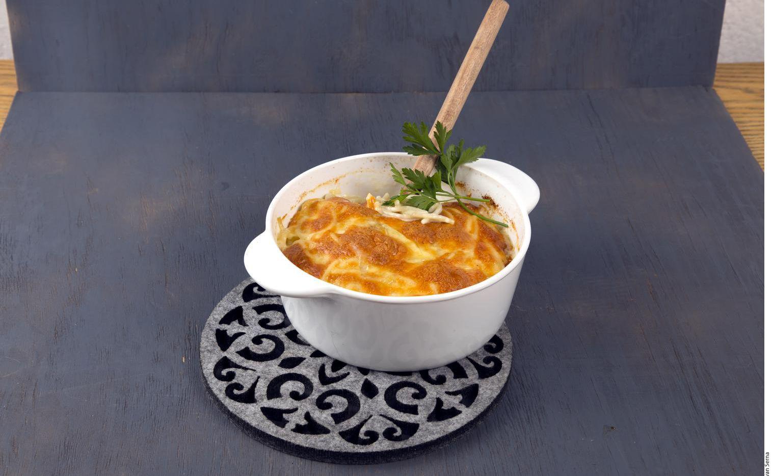 La pasta al horno puede servirse como complemento o como platillo principal.  (AGENCIA REFORMA)