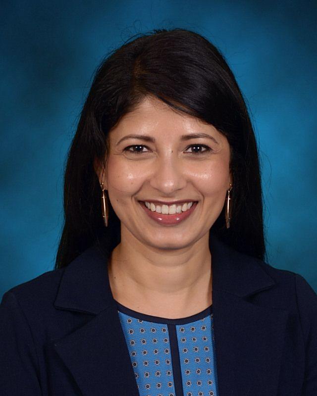 McSpedden Elementary School principal Kranti Singh