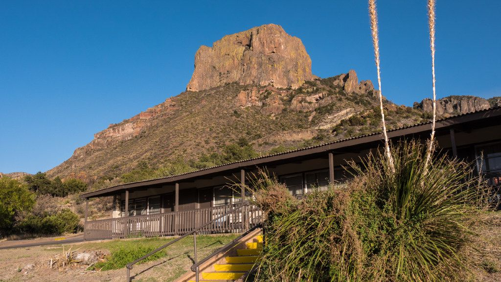 Chisos Mountains Lodge in Chisos Basin, Big Bend National Park.