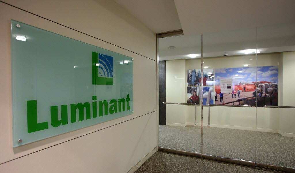 In the offices of Energy Future Holdings (Luminant here) in Dallas in 2014. (File Photo/The Dallas Morning News)