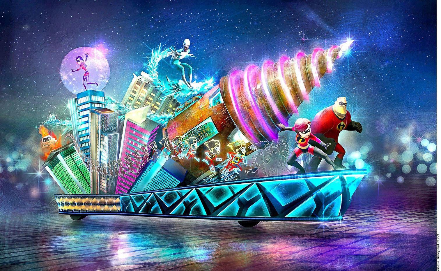 """Foto: Con un recorrido de casi mil 830 metros, la montaña rusa Incredicoaster promete convertirse en una de las atracciones favoritas de esta zona, la cual está inspirada en las cintas de Pixar como """"Intensamente"""" y """"Toy Story""""./ AGENCIA REFORMA"""