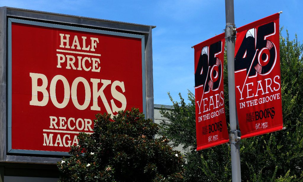 The Half-Price Books in Dallas, Friday, July 28, 2017. (Jae S. Lee/The Dallas Morning News)