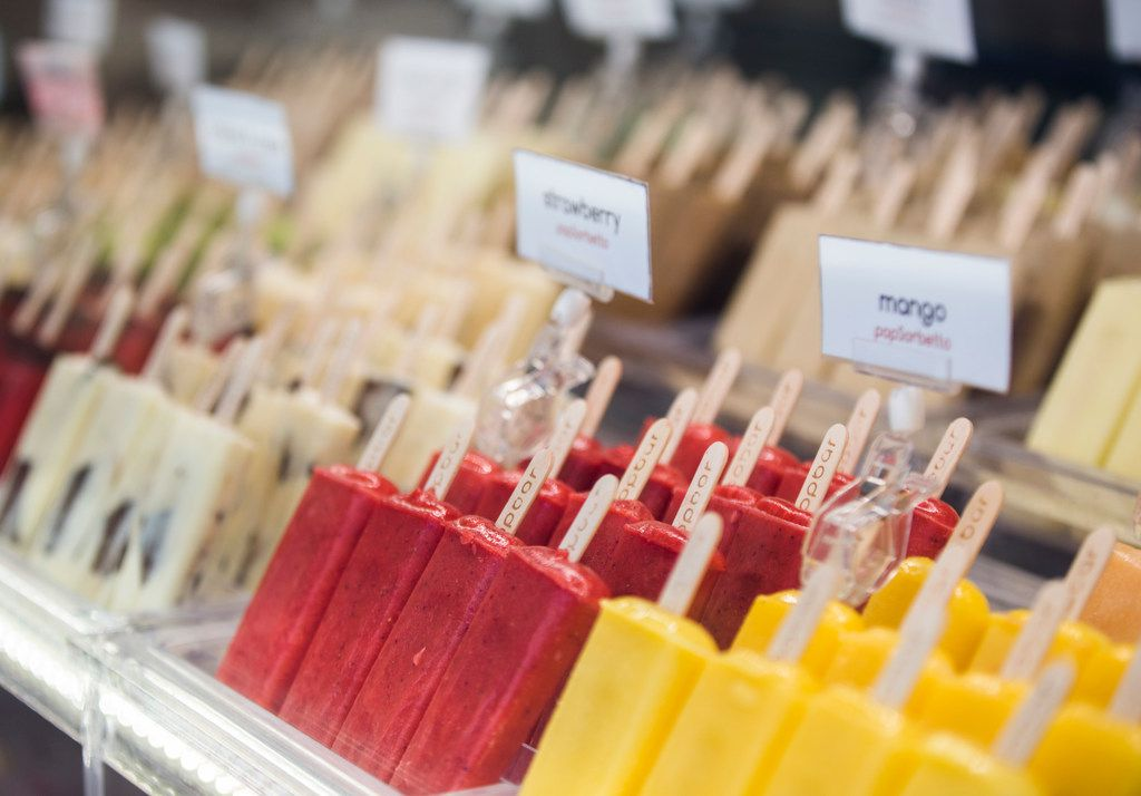 Popsicles flavors range from vegan, milk-free and downright sweet.