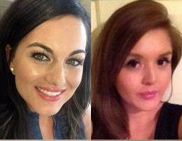 La dentisa de Dallas Kendra Hatcher (a la izquierda) fue asesinada en un edificio de Uptown. La policía cree que Brenda Delgado (arriba derecha) ordenó el ataque por celos. Kristopher Love está acusado de disparar, y Krystal Cortes confesó manejar el vehículo que siguió a la dentista.