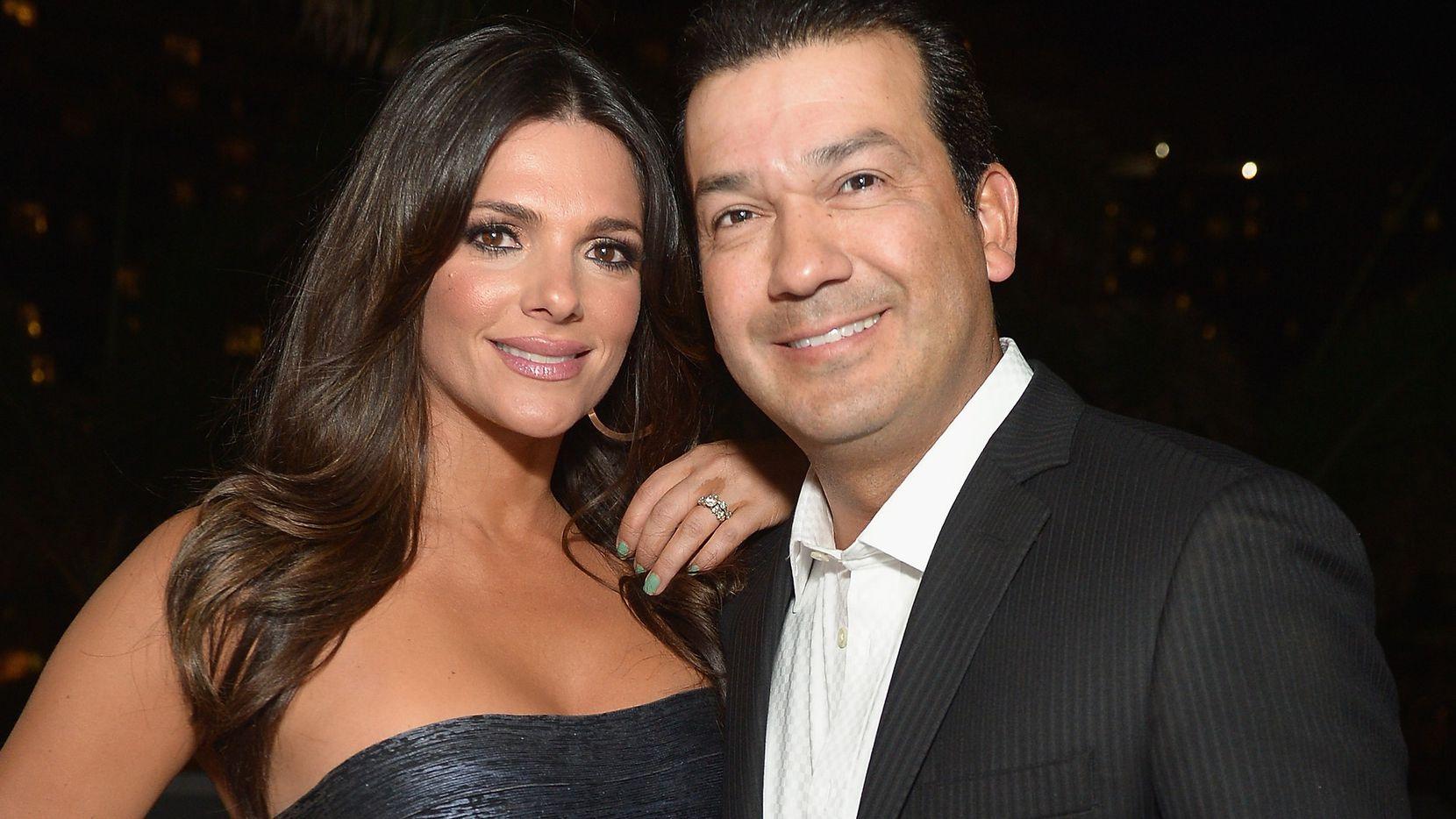 Bárbara Bermudo junto a su esposo Mario Andrés Moreno. / GETTY IMAGES