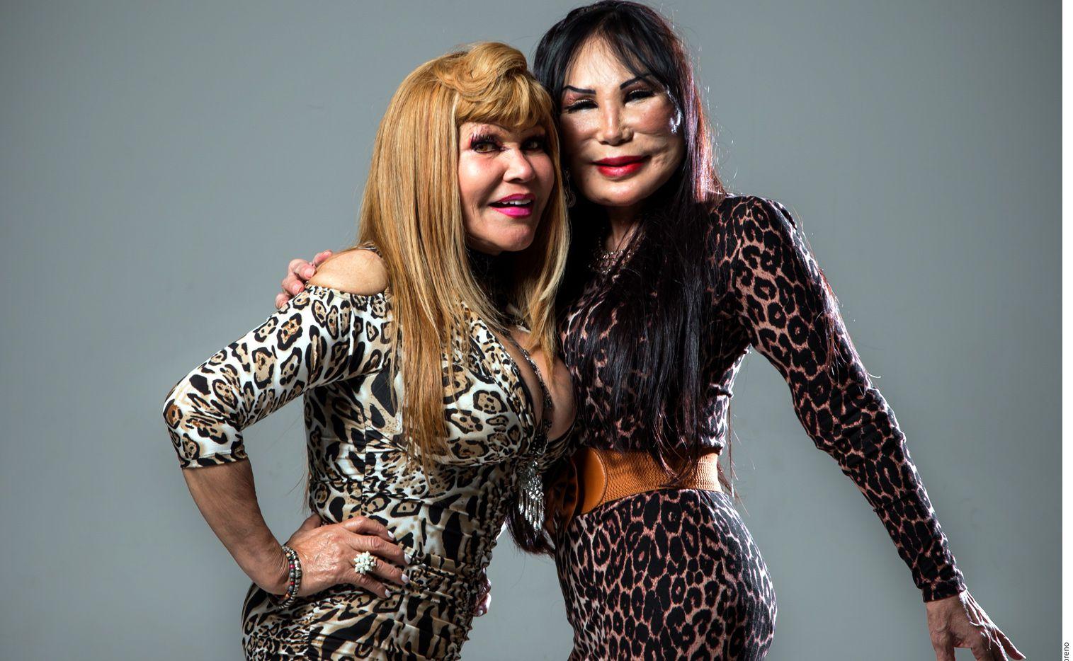 """""""Las Reinas de las Redes"""" eligieron tierras regias para debutar con su espectáculo en un antro gay. AGENCIA REFORMA"""