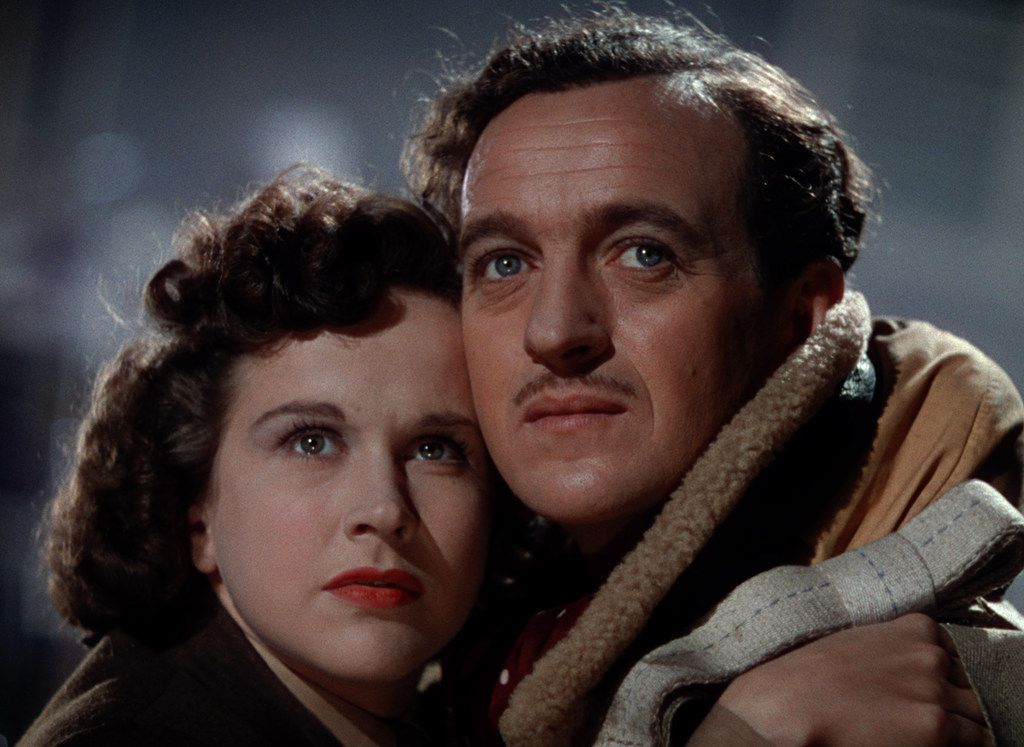 """Kim Hunter and David Niven in """"A Matter of Life and Death"""""""