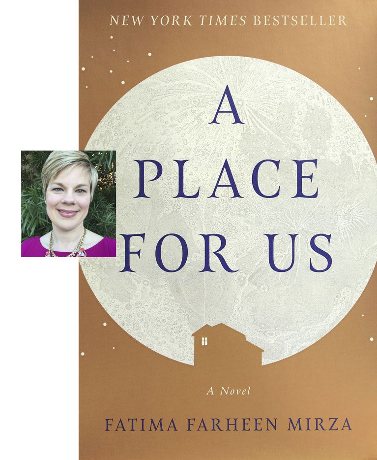 A Place for Us, by Fatima Farheen Mirza. (Image provided by Hogarth.)