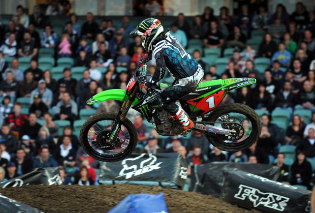 Monster Energy Supercross será el sábado en Arlington. Fotos: © Sport the library/Jeff Crow