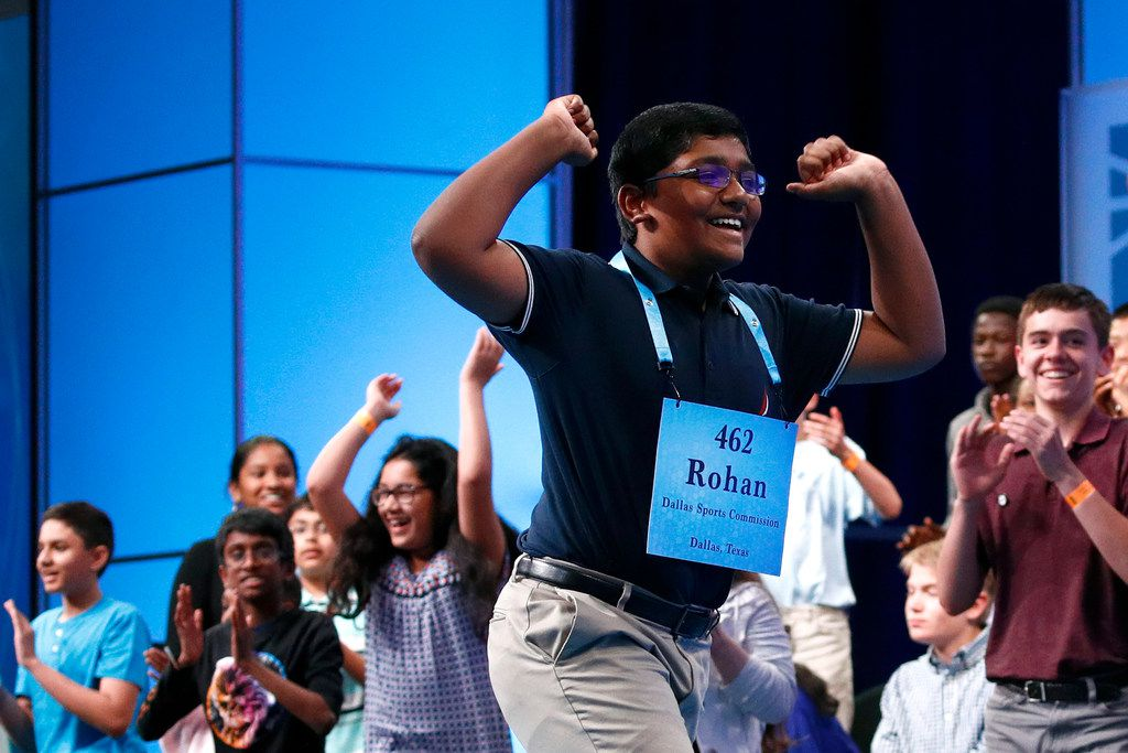 "Rohan Raja, 13, of Irving has enjoyed the limelight most of any of his co-champions: ""I like the fact that you can say stuff, and there's a chance it'll make an impact on someone."""