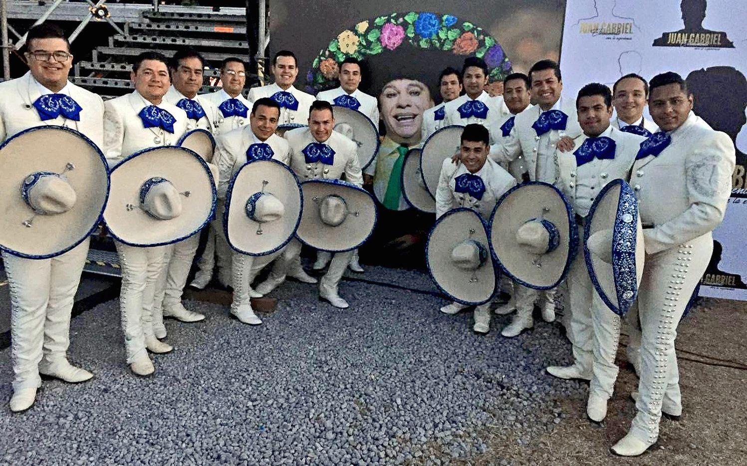 El mariachi Alma de Juárez. AGENCIA REFORMA