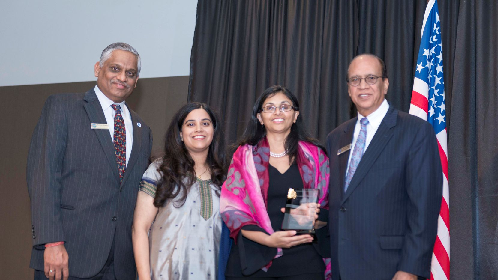 The U.S. India Chamber presented several awards at its Annual Awards Banquet at the Westin Galleria in Dallas.