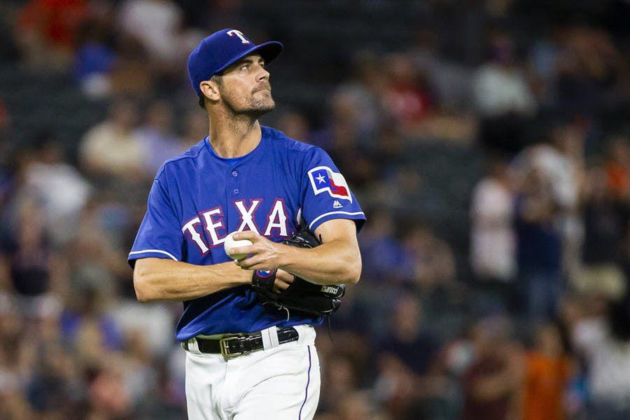 El lanzador Cole Hamels se va de los Texas Rangers en un canje con los Cubs de Chicago. Foto DMN