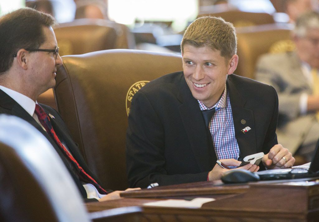 Rep. Matt Krause, R-Fort Worth (right), offered House Bill 1333 in the 2019 Legislature to remove some obvious flaws in a troubled Texas property tax system.