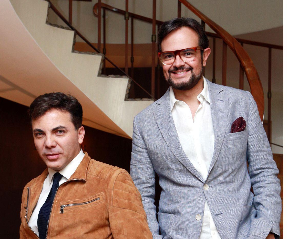 """Cristian Castro y Alex Syntek planean grabar más temas a dúo y, por lo pronto, ya tienen lista la canción """"Doy Todo"""", para la que buscan un escaparate importante, como una película./AGENCIA REFORMA"""
