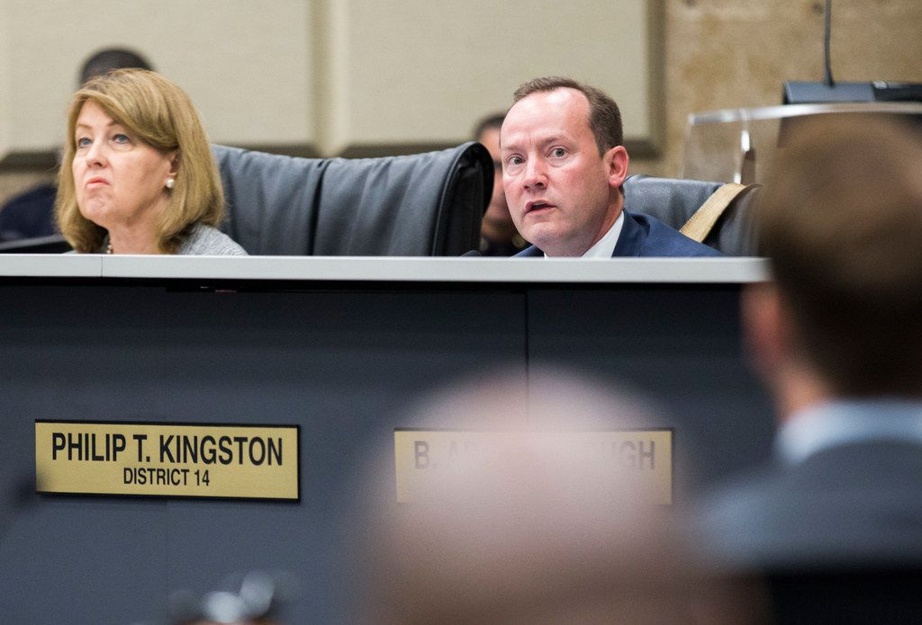 City Councilman Philip Kingston is being investigated for possibly benefiting from a zoning change in his own neighborhood in East Dallas.
