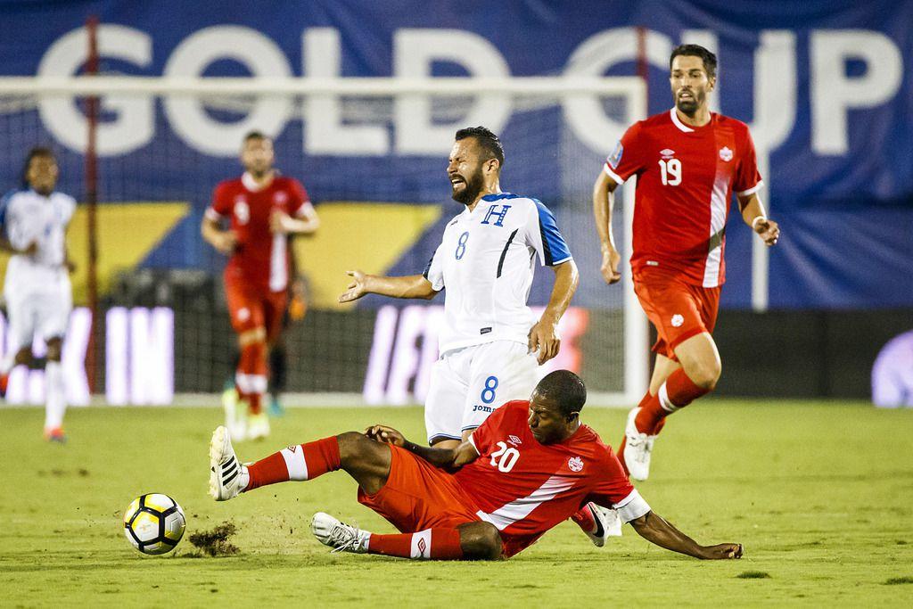 Canadá y Honduras jugaron en 2017 la Copa Oro en Frisco. (Smiley N. Pool/The Dallas Morning News)