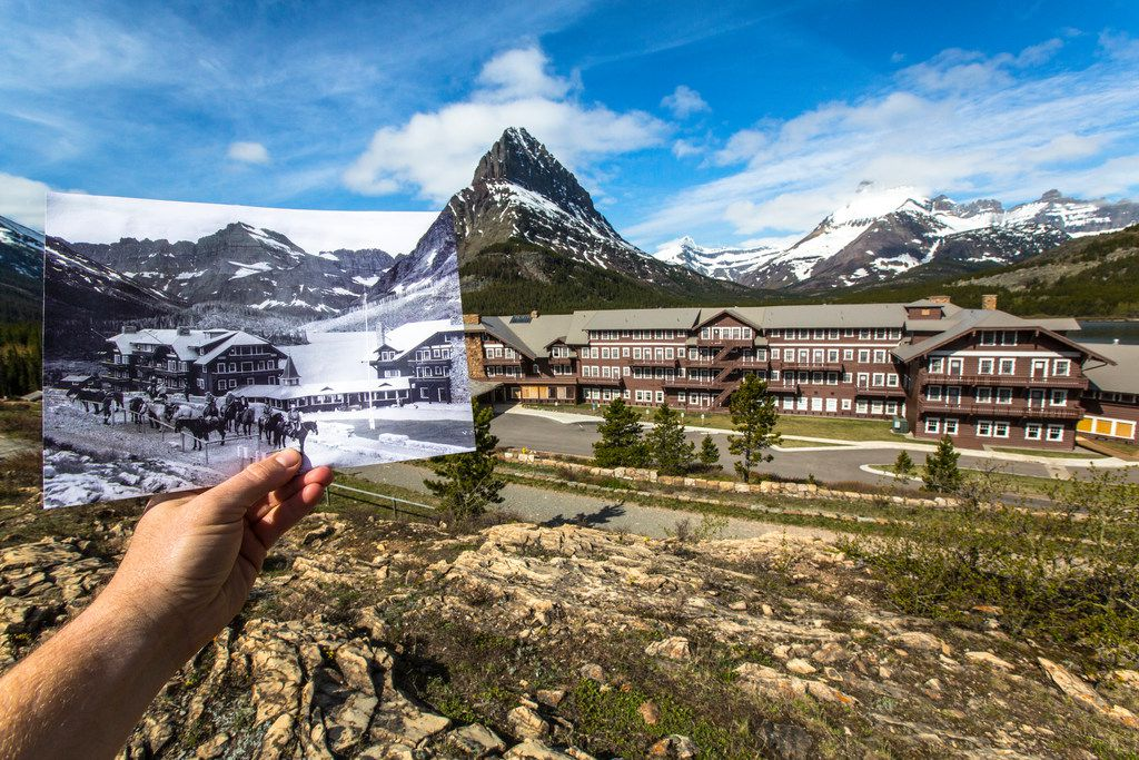 Many Glacier Hotel, which opened in 1915, is one of a half-dozen historic lodges or chalets in and around Glacier National Park. Many Glacier Hotel closes for the season Sept. 17, but visitors can still enjoy the park's many splendors.