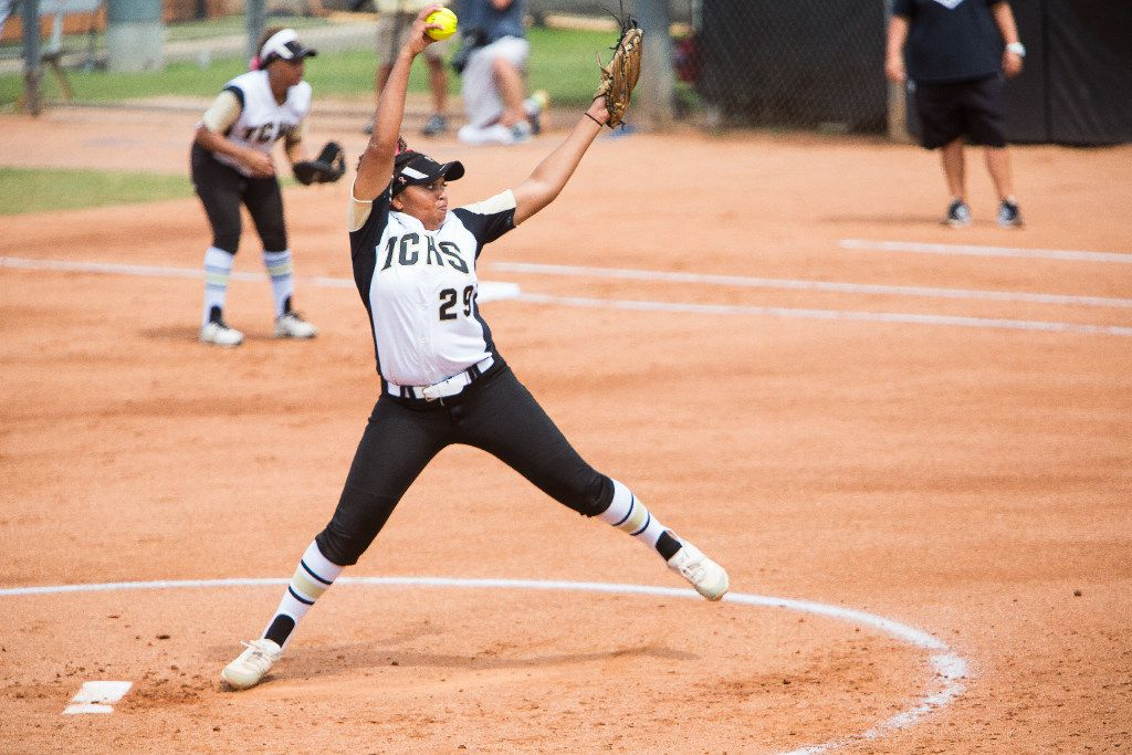 The Colony pitcher Karlie Charles leads the Dallas area in wins and ranks in the top five in ERA and strikeouts. (Julia Robinson/Special Contributor)
