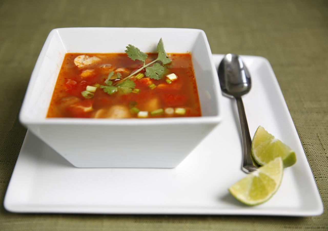 Spicy Thai Tom Yum Soup