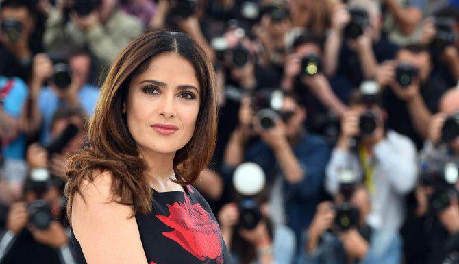 "Salma Hake presentó ""Il racconto dei racconti"", o cuento de cuentos en el Festival de Cannes. (AFP/GETTY IMAGES/ANNE-CHRISTINE POUJOULAT)"