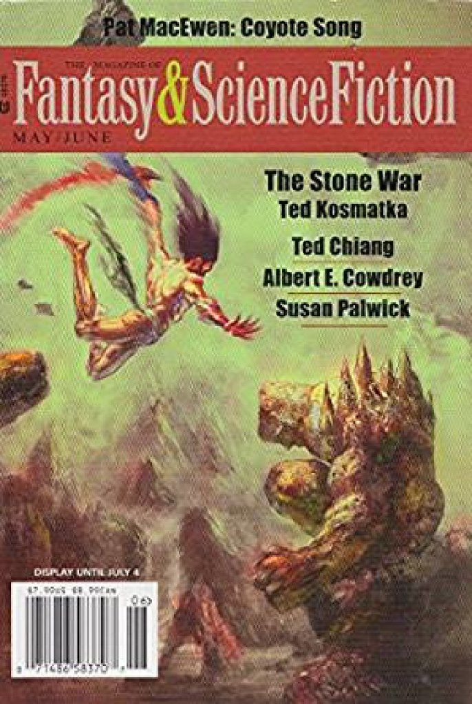 """The May/June 2016 issue of The Magazine of Fantasy & Science Fiction contains the Nebula Award-winning story """"The Long Fall Up,"""" by William Ledbetter."""