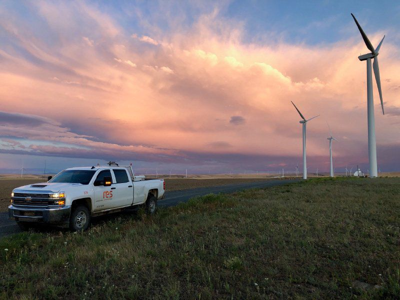A wind farm that can power 168,000 homes is blowing into