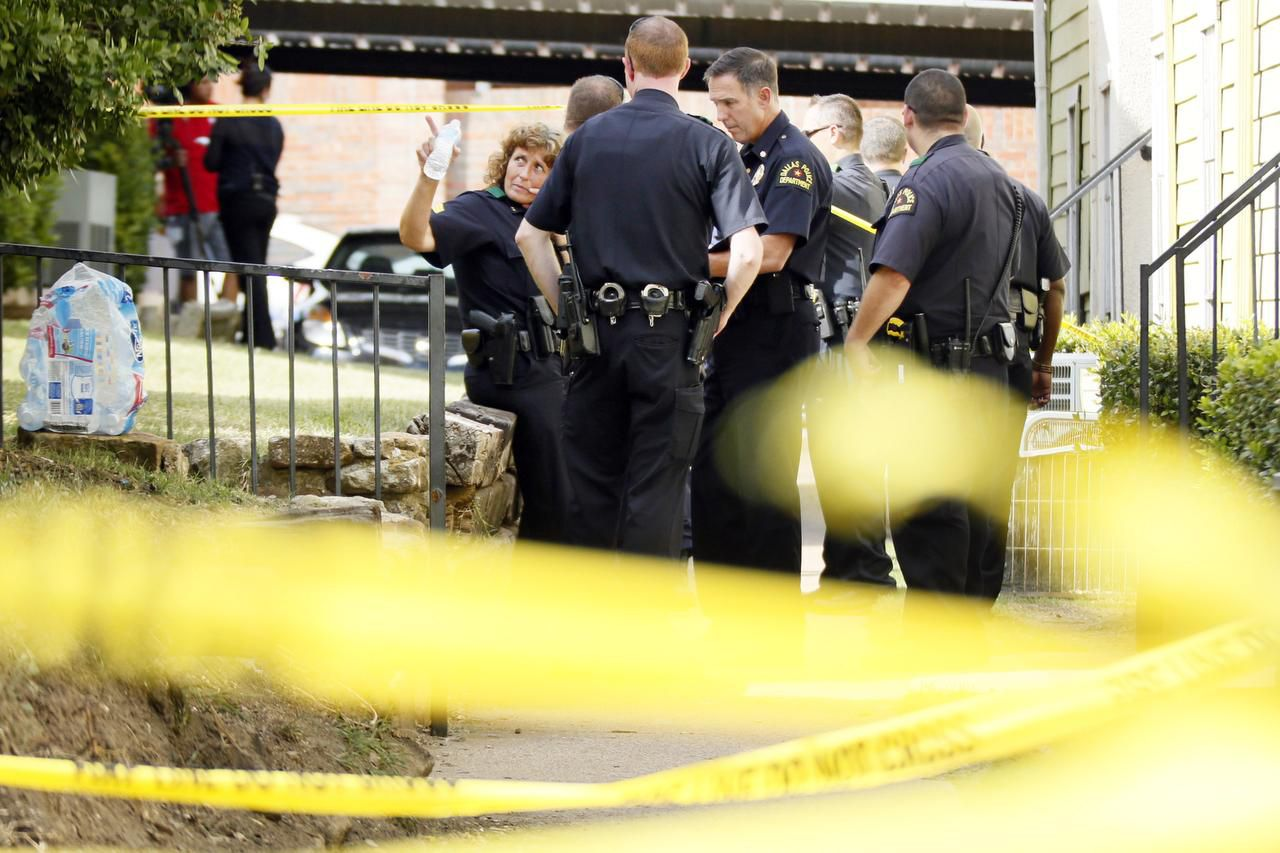 Robbery-motivated slayings in Dallas were cut nearly in half last year from 2013. Domestic violence killings also were down, but the city saw an increase in aggravated assaults.