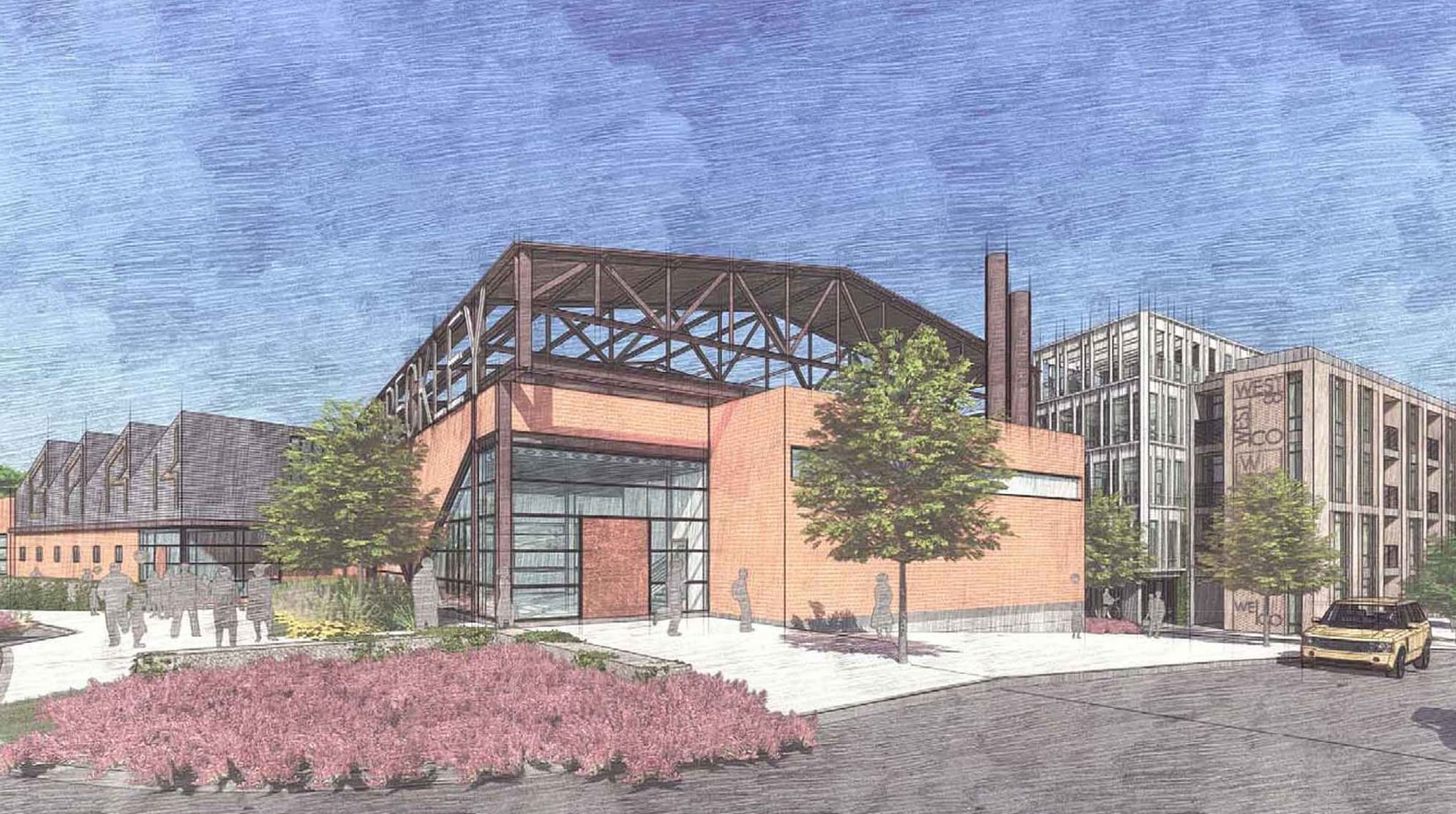 The Commerce Street project will include apartments, retail and office space..