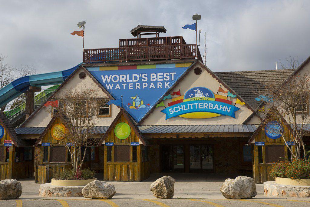 Schlitterbahn Waterpark and Resort in New Braunfels, Texas.