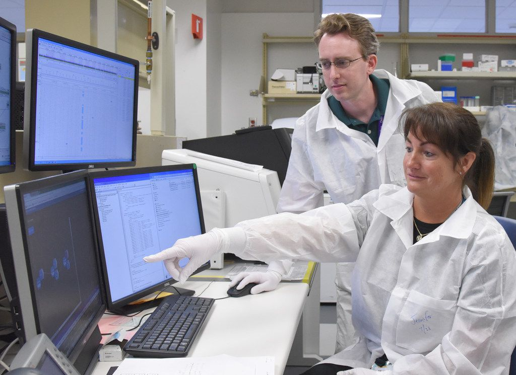 Because data from the sequencing typically include hundreds of genetic variants for even healthy people, experts must filter the results to identify only the very rare variants or those believed to cause disease. One widely used database contains about 90,000 variants linked to disease.