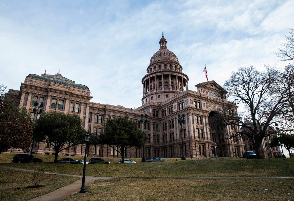 The Texas State Capitol building on the first day of the 85th Texas Legislative Session on Tuesday, January 10, 2017 at the Texas State Capitol in Austin, Texas. (Ashley Landis/The Dallas Morning News)