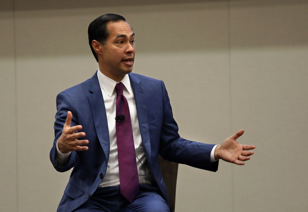 Democratic presidential candidate Julian Castro, speaking in Frisco on Monday, said he thinks he will do well on Super Tuesday, March 3. The former San Antonio mayor said not only can he win Texas, he also has a shot at taking California and Colorado as well.