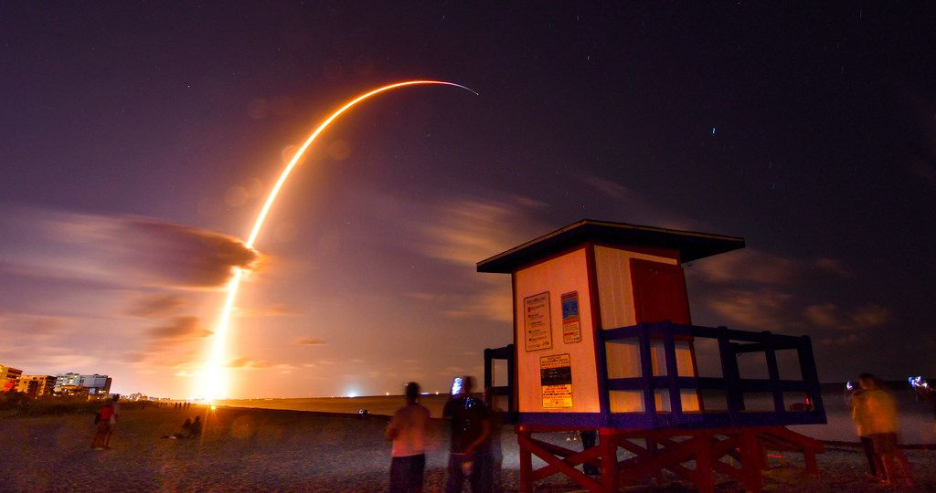 A Falcon 9 SpaceX rocket, with a payload of 60 satellites for SpaceX's Starlink broadband network, lifted off in May from Florida's Cape Canaveral Air Force Station.