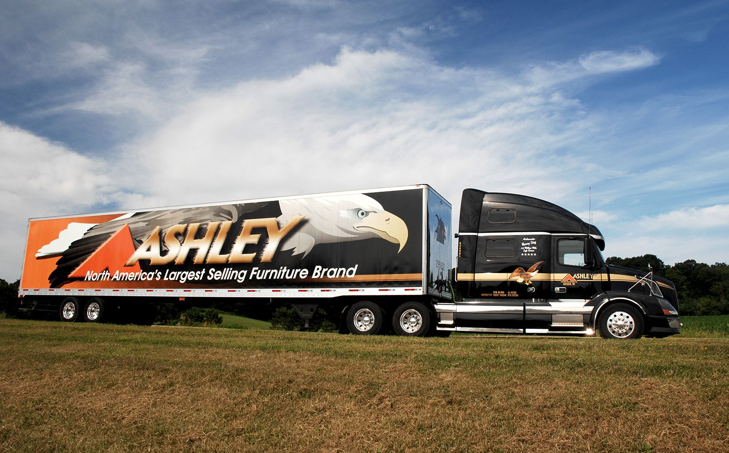 Ashley Furniture will build a $65 million distribution center in Mesquite.