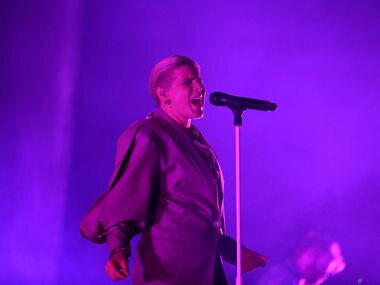 Robyn performs in concert at Toyota Music Factory on Tuesday, Oct. 15, 2019.