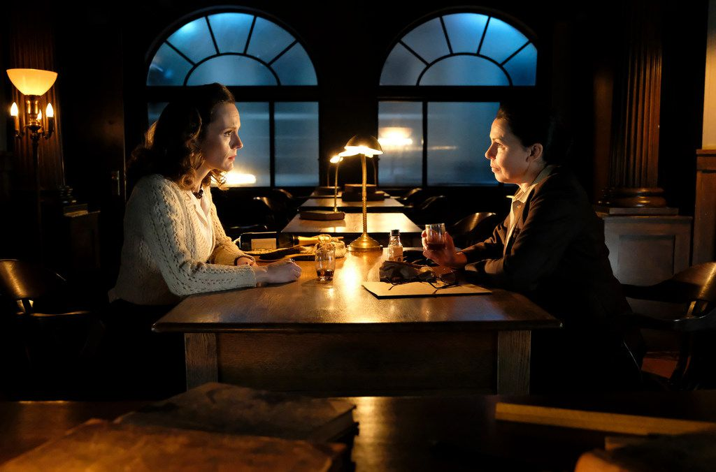 Rachael Stirling, left, and Julie Graham star in The Bletchley Circle: San Francisco.