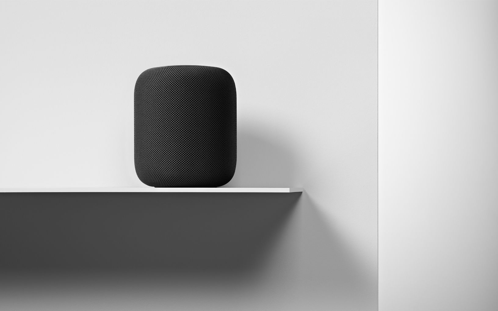 The HomePod looks and sounds great in any decor.