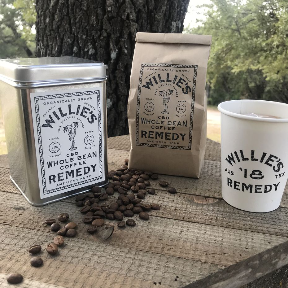Willie's Remedy will launch a CBD-infused coffee in Colorado this fall.
