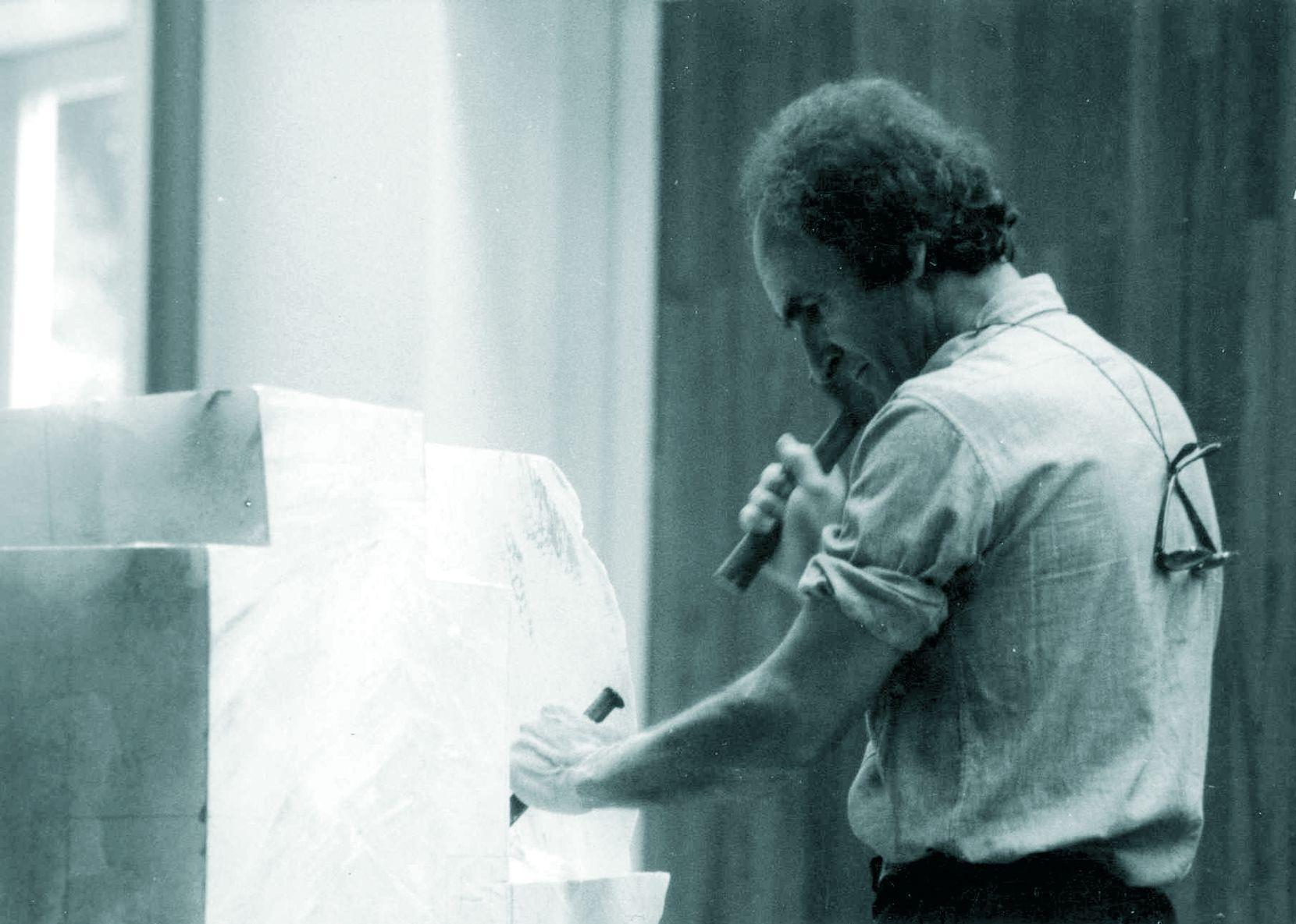 Eduardo Chillida. Foto cortesía Meadows Museum.