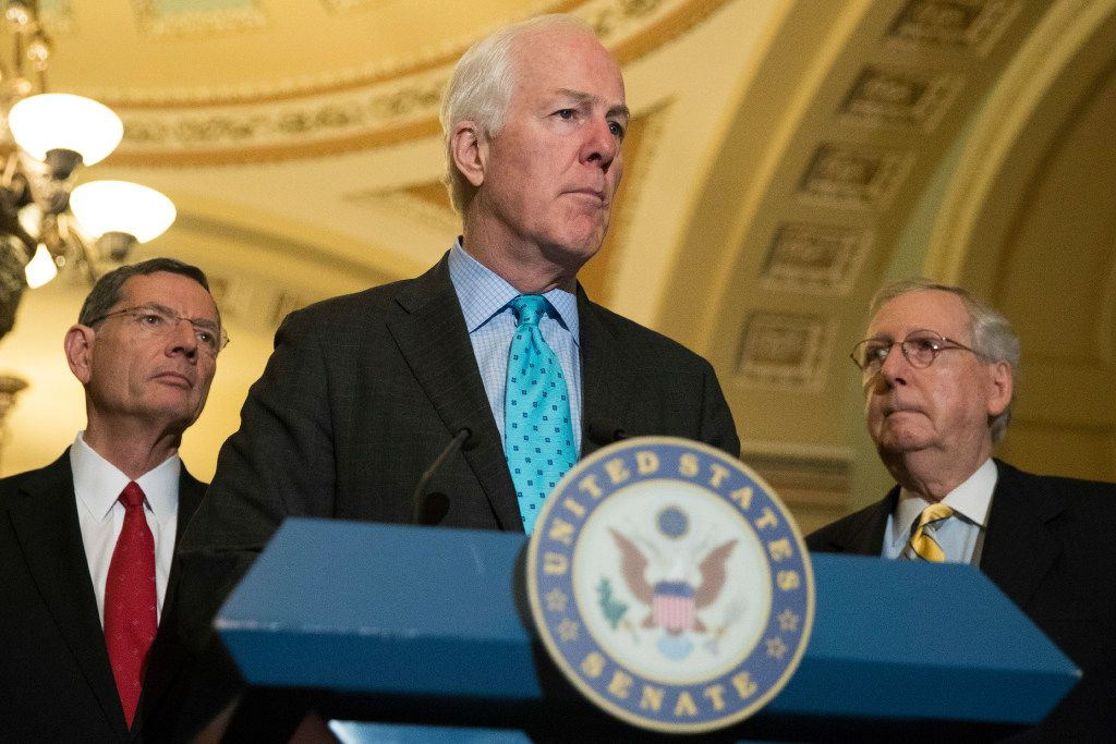"""Sen. John Cornyn has described the Graham-Cassidy bill as Republicans' """"last best hope"""" for undoing Obamacare."""
