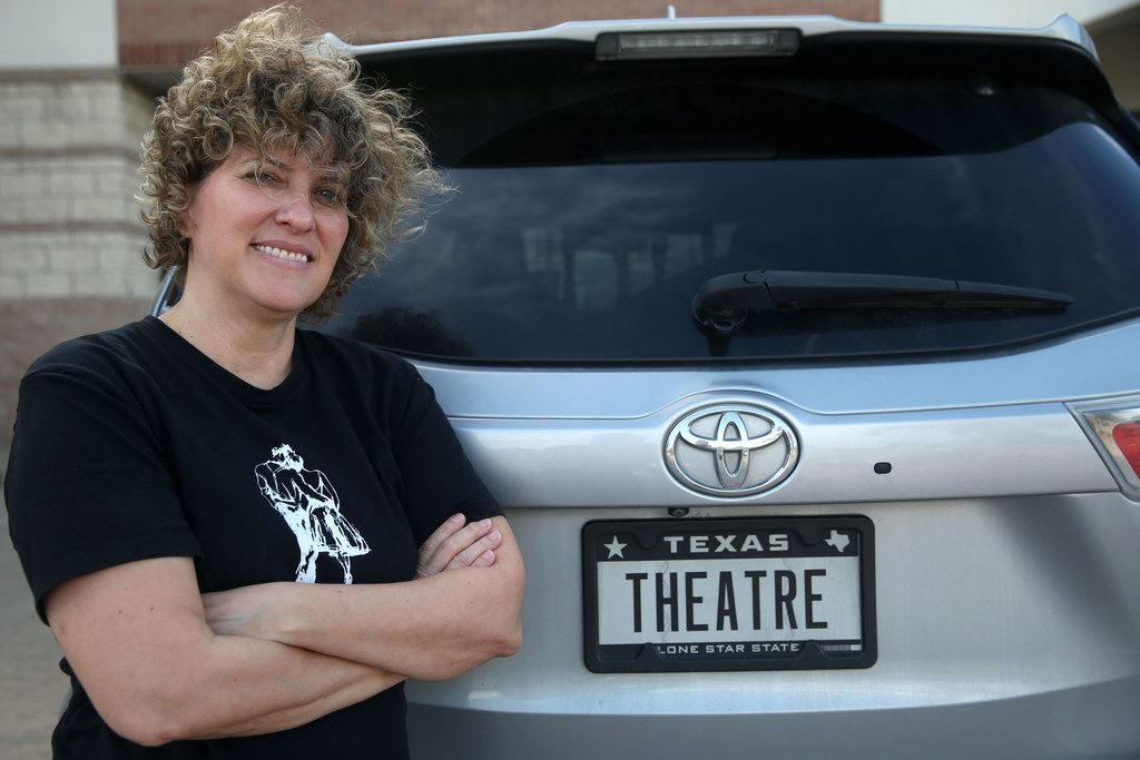 Brick Road Theatre doesn't have its own permanent studio, so Noelle Chesney often transports props back and forth in her car.