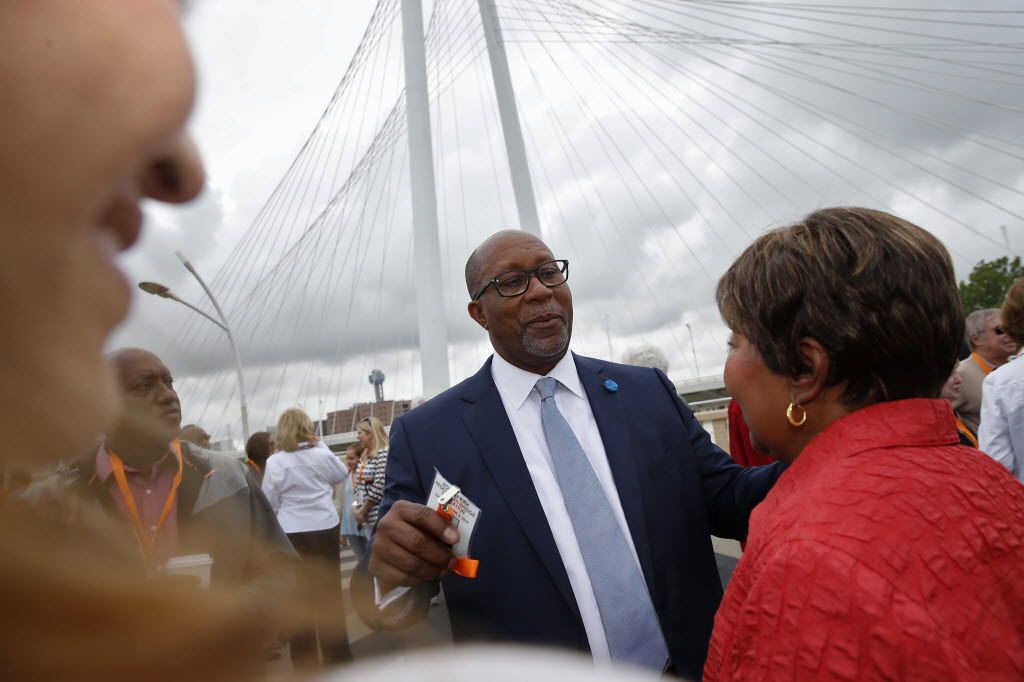 """Ron Kirk, who served as trade ambassador under President Barack Obama, said that """"for a state uniquely positioned like Texas ... this is going to have a negative impact"""" from a trade war."""