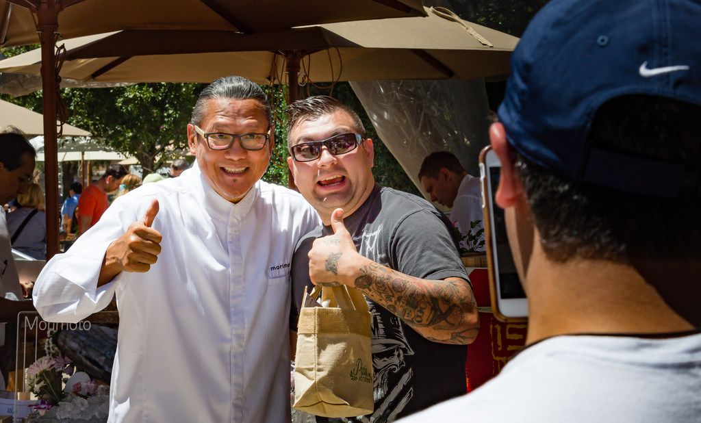 Picnic at The Park is an outdoor food and wine event where guests can meet, greet and pose for photos with famous chefs such as Iron Chef star Masaharu Morimoto.