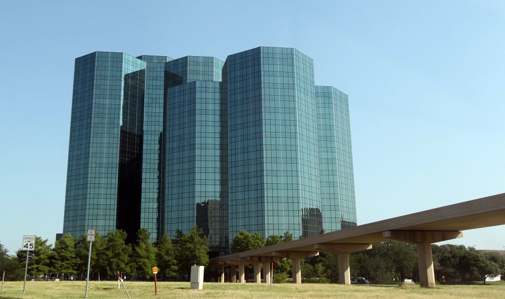 Celanese Corp. is headquartered in the Urban Towers complex on Las Colinas Blvd. in Irving.