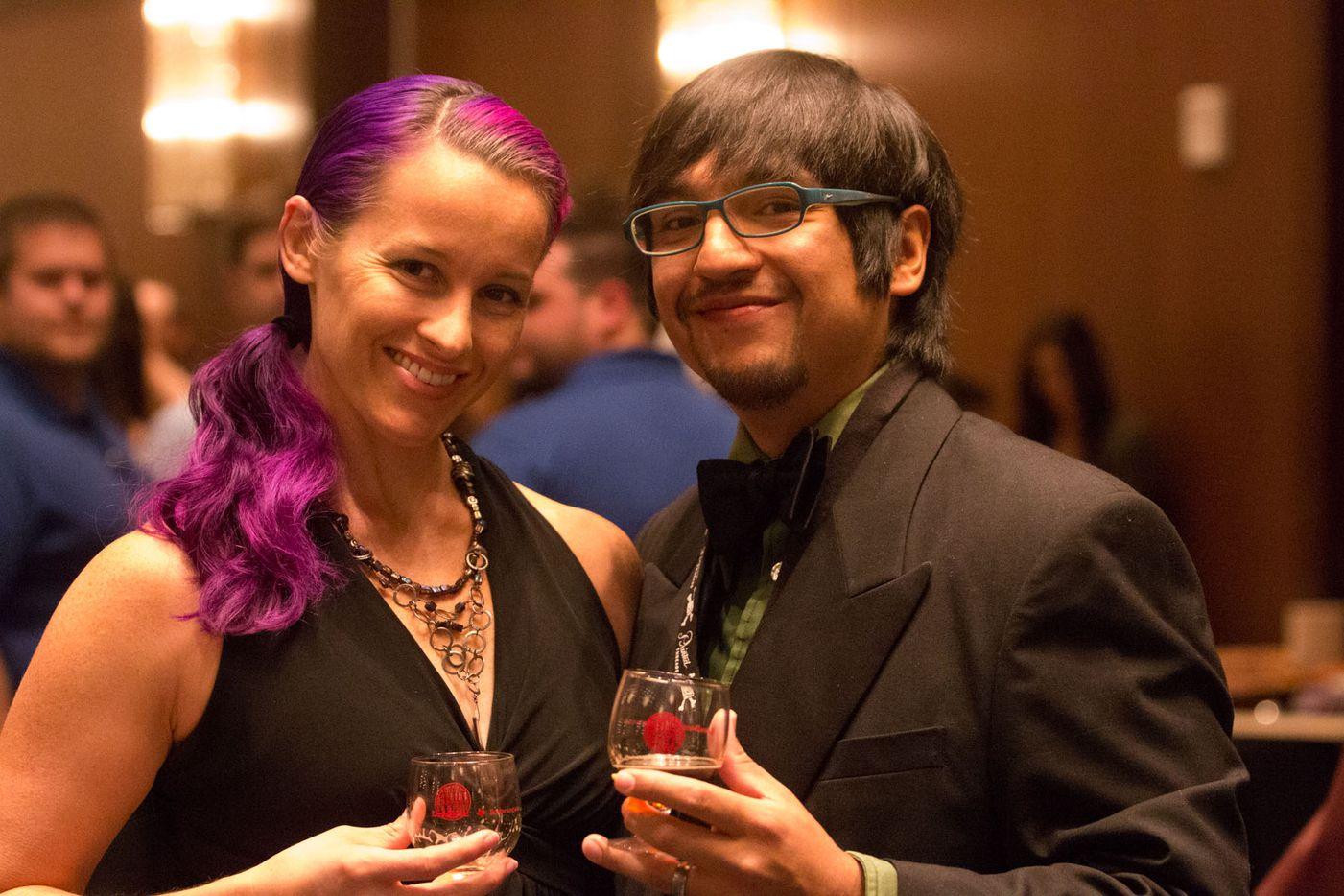 NTX Beer Week held its Second Annual Brewers Ball at the Renaissance Dallas Hotel on November 13, 2015. Brigitte and Alex Lepe