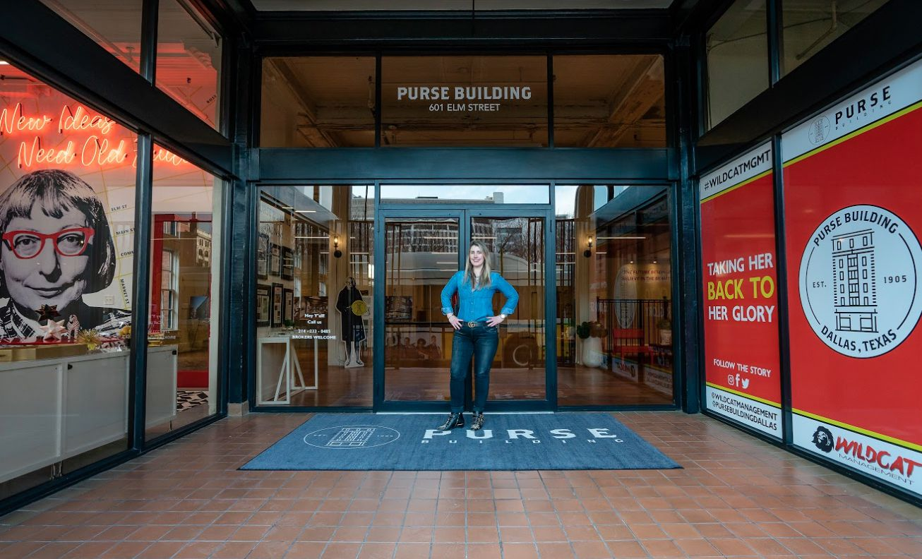 Developer Tanya Ragan is restoring the vacant Purse & Co. Building.
