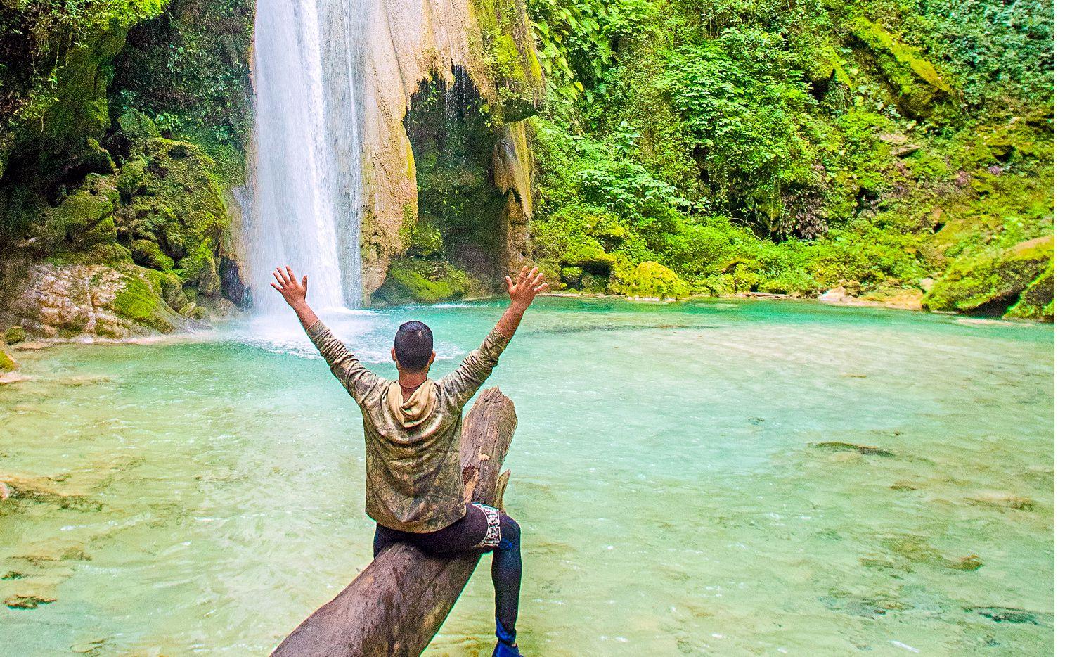 La Cascada El Chuveje se encuentra en la Sierra Gorda de Querétaro. (AGENCIA REFORMA)