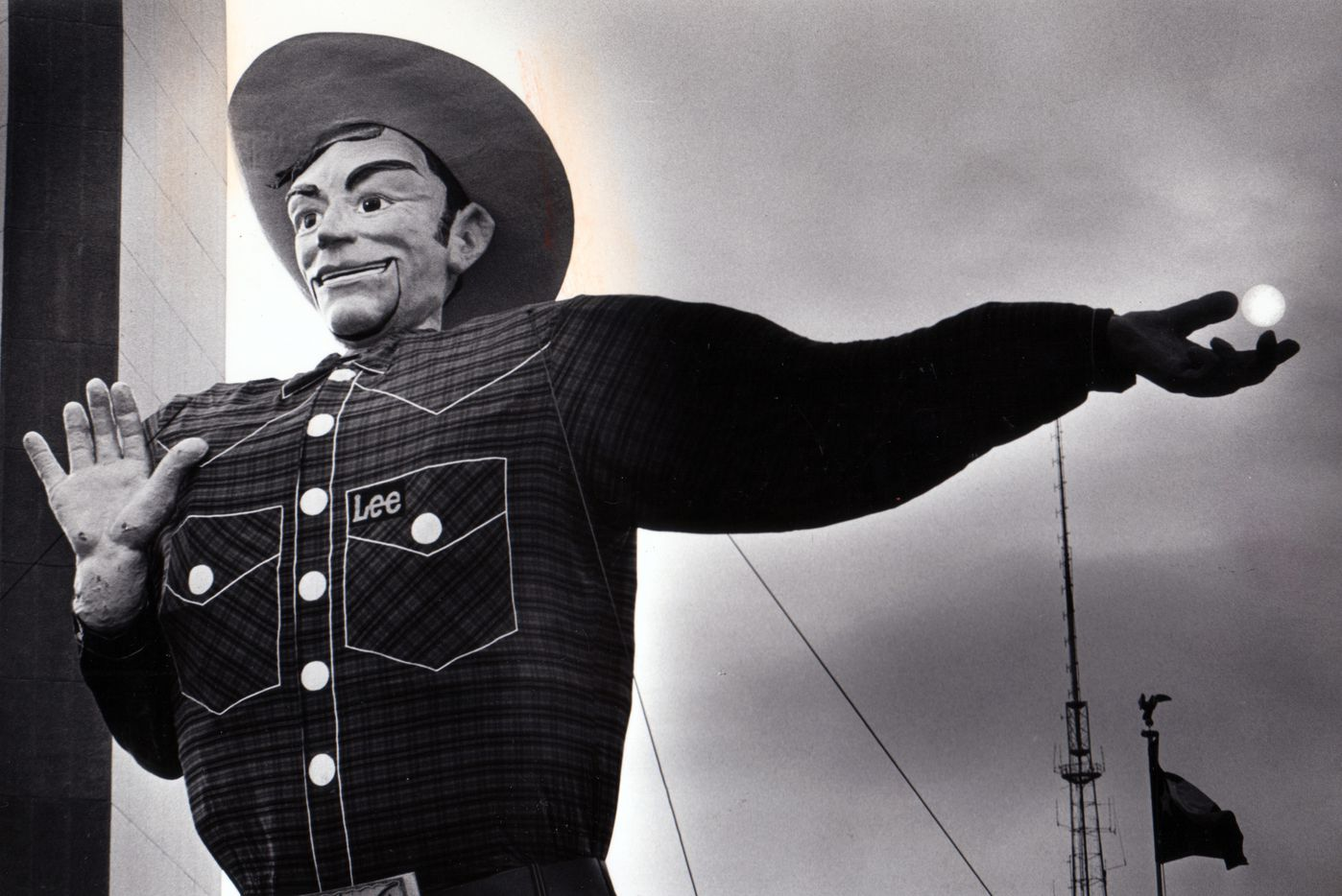 Big Tex had the sun at his fingertips in 1979